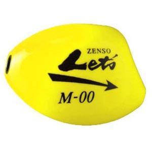 キザクラ Kizakura ZENSO Let's 全層レッツ ( M )  イエロー 3個までメール便OK ウキ 磯釣り 堤防|hikoboshi-fishing