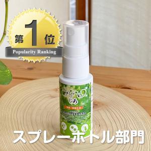 携帯用スプレー 空ボトル 30mL 容器 除菌 消臭 みらいゆ じあ マスク除菌|hikwsi-powata
