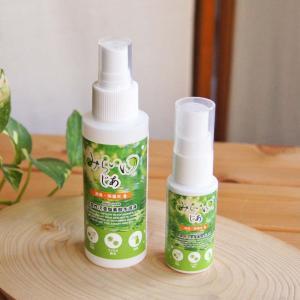 携帯用スプレー 30mLスリム+100mL携帯空ボトルセット 除菌 消臭 みらいゆ じあ マスク除菌(液は入っていません)|hikwsi-powata