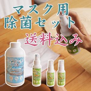 送料込み マスク用除菌セット 次亜塩素酸水 空ボトル|hikwsi-powata