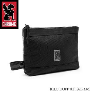 クローム CHROME ポーチ KILO DOPP KIT キロ ドップ キット 小物入れ 1L KILO KIT AC141 AC141 国内正規品|hikyrm