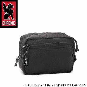クローム CHROME ポーチ D.KLEIN CYCLING HIP POUCH AC-195 AC195 国内正規品|hikyrm