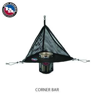 ビッグアグネス コーナーバー シルバー ボトルホルダー テント アクセサリー キャンプ アウトドア ドリンクホルダー スマホ収納 収納 小物入れ ACB16 hikyrm