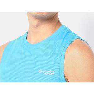 コロンビアモントレイル Columbia Montrail メンズ タイタンウルトラスリーブレスシャツ TITAN ULTRA SLEEVELESS SHIRT AE0175|hikyrm|03