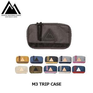 アノニム クラフツマン デザイン ポーチ パスポートケース財布 M3 TRIP CASE ANM-17TC-NY ANONYM CRAFTSMAN DESIGN ANM17TCNY|hikyrm