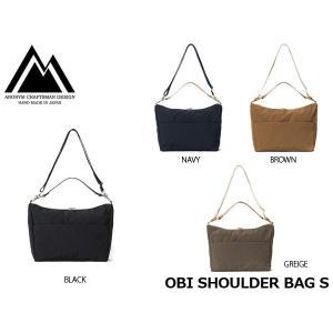 アノニム クラフツマン デザイン ショルダーバッグ OBI SHOULDER BAG S OBI SERIES ANM-31S-NY ANONYM CRAFTSMAN DESIGN ANM31SNY|hikyrm