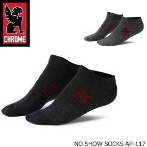 クローム 靴下メンズ NO SHOW SOOKS ノー ショー ソックス AP-117 CHROME AP117 国内正規品|hikyrm