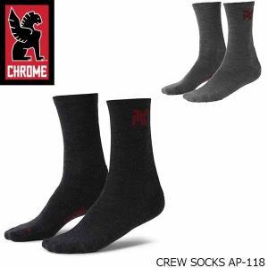 クローム 靴下メンズ CREW SOOKS クルー ソックス AP-118 CHROME AP118 国内正規品|hikyrm
