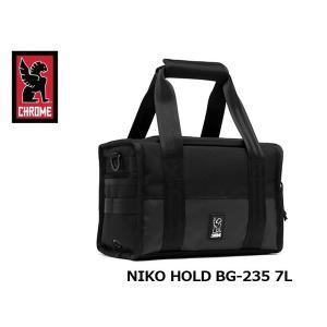 クローム ショルダーバッグ カメラバッグ NIKO HOLD ニコ ホールド BG-235 ALL BLACK 7L 耐水 CHROME BG235ALLB 国内正規品 hikyrm