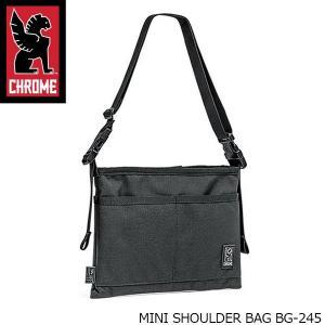 クローム CHROME ショルダーバッグ MINI SHOULDER BAG ミニ ショルダー バッグ サコッシュ ショルダーポーチ 耐水 BG245 BG245 国内正規品|hikyrm