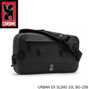 クローム CHROME ウェストバッグ URBAN EX SLING アーバン EX スリング スリングバッグ ボディバッグ ヒップバッグ カバン 10L BG258 BG258 国内正規品|hikyrm