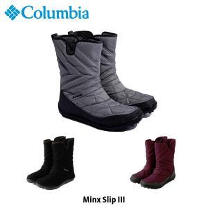 コロンビア レディース ブーツ ミンクス スリップ 3 MINX SLIP III 防水 Columbia BL5959 国内正規品|hikyrm