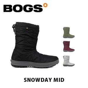 ボグス BOGS レディース ブーツ スノーブーツ スノーデイ ミッド 靴 シューズ 雪 防水 ウィンター 防寒 長靴 かわいい おしゃれ SNOWDAY MID BOG002|hikyrm