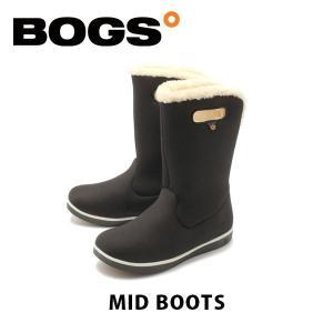 ボグス BOGS レディース ブーツ ミッドブーツ ウォータープルーフ スノーブーツ ボア 防水 防滑 保温 靴 MID-BOOTS BOG008|hikyrm