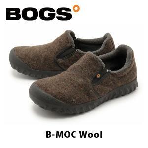 ボグス BOGS メンズ ブーツ スノーシューズ Bモック ロー ウール ブーツ レインシューズ フリース ふわふわ 防水 防滑 保温 B-MOC WOOL BOG011|hikyrm