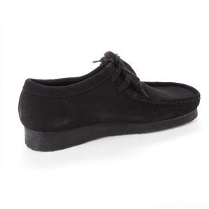 クラークス CLARKS ワラビー メンズ カジュアル シューズ ブラックスエード 黒 スエード 本革 モカシン レースアップ 革靴 26133279 CLA26133279 国内正規品|hikyrm|04