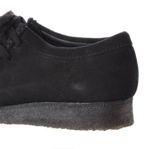 クラークス CLARKS ワラビー メンズ カジュアル シューズ ブラックスエード 黒 スエード 本革 モカシン レースアップ 革靴 26133279 CLA26133279 国内正規品|hikyrm|05