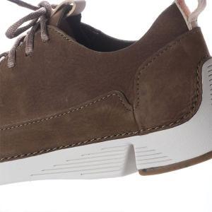 クラークス CLARKS トライスパーク メンズ レザーシューズ ローカット スニーカー カーキ 本革 シューズ 軽量 革靴 26135655 CLA26135655 国内正規品|hikyrm|06