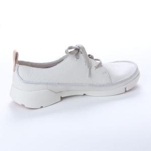 クラークス CLARKS トライクララ レディース レザースニーカー カジュアル シューズ ホワイト 白 本革 レースアップ 革靴 26138569 CLA26138569 国内正規品|hikyrm|07