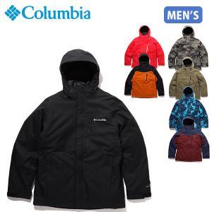 Columbia コロンビア ジャケット メンズ 防寒 防水透湿 2WAY スノージャケット スノーボード ウィリバードIVインターチェンジジャケット WE1155 COLWE1155|hikyrm