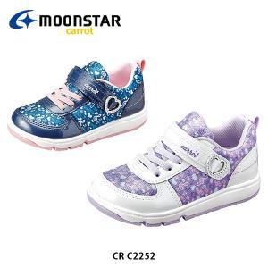 ムーンスターキャロット キッズ シューズ CR C2252 靴 つま先ゆったり WAGAMAMA 抗菌防臭 洗えるインソール 2E 子供 男の子 女の子 MOONSTAR CRC2252 hikyrm