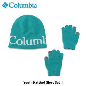 コロンビア Columbia キッズ ユース 帽子 ユースハットアンドグローブセットII ニット帽 手袋 グローブ アウトドア キャンプ CY0084 国内正規品|hikyrm