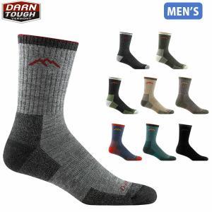 ダーンタフバーモント メンズ メリノウール ソックス 靴下 マイックロクルークッション ハイキング トレッキング DARN TOUGH VERMONT DAR19441466 国内正規品|hikyrm