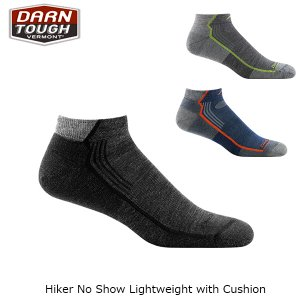 ダーンタフバーモント メンズ メリノウール ソックス 靴下 1963 ハイカーノーショウライトクッション 抗菌 消臭 DAR19441963 国内正規品|hikyrm