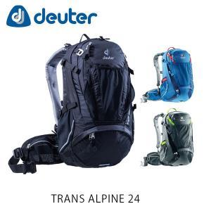 ドイター バックパック リュック トランスアルパイン 24 24L TRANS ALPINE 24 自転車 ハイキング タウンユース 通勤 通学 deuter 3205017 DEU3205017|hikyrm