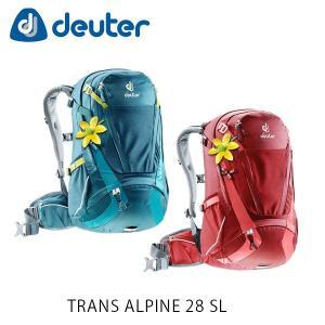 ドイター バックパック リュック トランスアルパイン 28 SL 28L TRANS ALPINE 28 SL 自転車 ハイキング タウンユース 通勤 通学 deuter 3205117 DEU3205117|hikyrm
