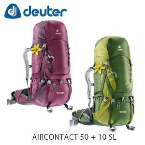 ドイター バックパック リュック エアコンタクト 50+10 SL 50L+10L AIRCONTACT 50+10 SL バッグ トレッキングパック トレッキング deuter 3320216 DEU3320216|hikyrm