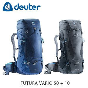 ドイター リュック バックパック フューチュラ バリオ 50+10 60L ザック ハイキング 登山 トレッキング 旅行 FUTURA VARIO 50 + 10 deuter 3402118 DEU3402118|hikyrm