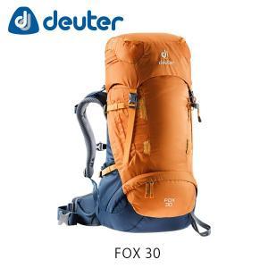 ドイター バックパック リュック フォックス 30 30L FOX 30 ザック バッグ トレッキング ハイキング 登山 マンゴー×ミッドナイト deuter 3613018 DEU3613018|hikyrm