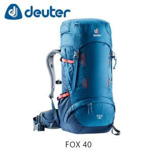 ドイター バックパック リュック フォックス 40 40L FOX 40 ザック バッグ トレッキング ハイキング 登山 オーシャン×ミッドナイト deuter 3613118 DEU3613118|hikyrm