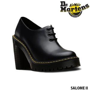 ドクターマーチン レディース シューズ 3ホール サロメ レースアップ ヒール チャンキーヒール EIRENE SALOME II SMOOTH Dr.Martins DRM24714 国内正規品|hikyrm