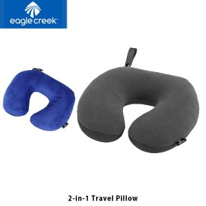 イーグルクリーク EagleCreek 2IN1 トラベルピロー アウトドア 旅行 旅行用品 トラベルグッズ ネックピロー 枕 クッション EAG11862024 国内正規品|hikyrm