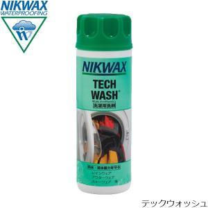 ニクワックス NIKWAX テックウォッシュ 洗剤(撥水生地用) 300ml レインウェア アウターウェア 撥水 ウェア ギア EBE181|hikyrm