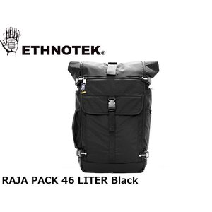ETHNOTEK エスノテック バックパック Raja Pack 46 Ballistic Black ラージャ パック 46 バリスティックブラック 19730016001014 ETH19730016001014|hikyrm