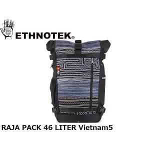 ETHNOTEK エスノテック バックパック Raja Pack 46 Vietnam5 ラージャ パック 46 ベトナム5 19730016008014 ETH19730016008014|hikyrm