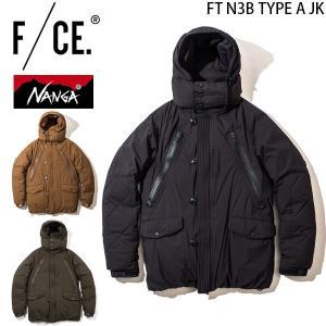 エフシーイー ナンガ F/CE. × NANGA FT N3B タイプAジャケット メンズ ダウンジャケット FT N3B TYPE A JK アウター F1802NA0022|hikyrm