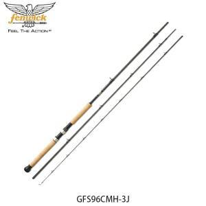 フェンウィック fenwick トローリングロッド 釣り竿 トローリングGFS96CMH-3J パラダイム #12 トラウト フィッシング 12502029660 FEN4930843970665|hikyrm