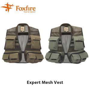 Foxfire フォックスファイヤー ベスト メンズ Expert Mesh Vest エキスパートメッシュベスト 5010669 FOX5010669|hikyrm