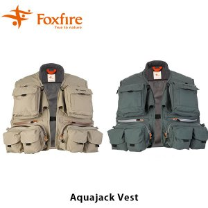 フォックスファイヤー Foxfire メンズ アクアジャックベスト Aquajack Vest 5010850 FOX5010850|hikyrm
