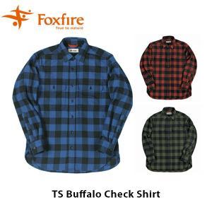 フォックスファイヤー Foxfire メンズ TSバッファローチェックシャツ 長袖シャツ トレッキング 登山 山登り 男性用 TS Buffalo Check Shirt FOX5112854|hikyrm