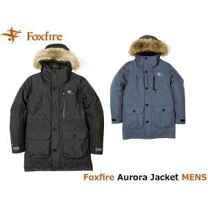 フォックスファイヤー Foxfire メンズ オーロラジャケット アウター ダウン ゴアテックス GORE-TEX 防水 登山 アウトドア Aurora Jacket FOX5113732 国内正規品|hikyrm