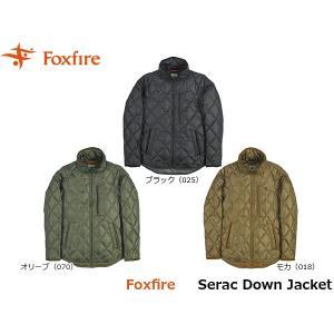 フォックスファイヤー Foxfire メンズ セラックダウンジャケット アウター ダウン 羽毛 ハイキング 登山 トレッキング アウトドア FOX5113875 国内正規品|hikyrm