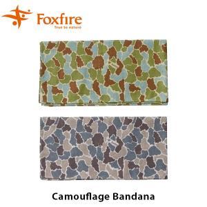 Foxfire フォックスファイヤー バンダナ メンズ Camouflage Bandana カモフラージュバンダナ 5320385 FOX5320385|hikyrm