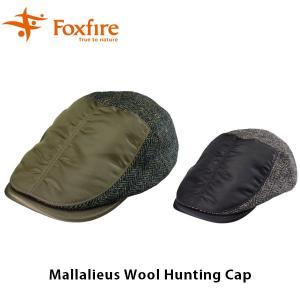 フォックスファイヤー Foxfire ユニセックス 帽子 マラリウスウールハンチング Mallalieus Wool Hunting Cap 5422781 FOX5422781|hikyrm