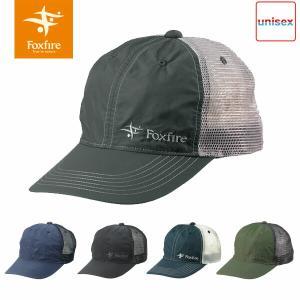 フォックスファイヤー Foxfire メンズ レディース SPロゴメッシュキャップ 帽子 ハット キャップ 撥水 メッシュ 登山 アウトドア キャンプ FOX5522991|hikyrm