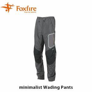 フォックスファイヤー Foxfire メンズ ミニマリスト ウェーディング パンツ パンツ エアリスタ airsta 釣り フィッシングギア フィッシングパンツ FOX5914960|hikyrm